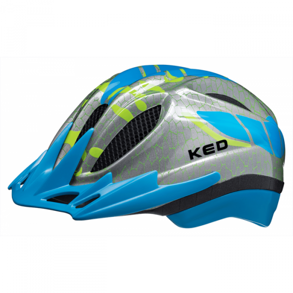 Meggy K-Star Kindervelohelm-Lightblue-Grösse M (52-58 cm)