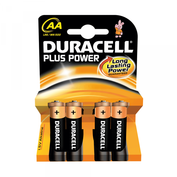 Duracell Plus Power Batterien 1.5V AA
