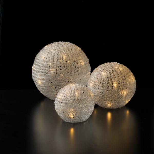 LED Ice-Kugeln 3er-Set